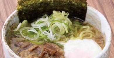 黒毛和牛牛すじネギ塩ラーメン(温)